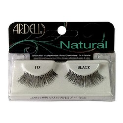 Ardell fashion lashes 117 black - 4 ea