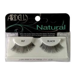 Ardell fashion lashes 117 black - 4 ea