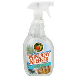 Earth friendly window cleaner with vinegar - 22 oz