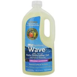 Earth Friendly Wave Dishwasher Gel, Organic Lavender - 40 oz, 8pack