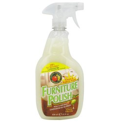 Earth friendly furniture polish with natural olive - 22 oz