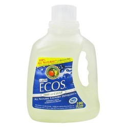 Earth friendly ecos ultra laundry liquid detergent, free and clear - 100 oz, 100 loads