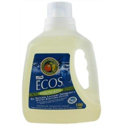 Earth Friendly ECOS Laundry Detergent All Natural - 100 oz,  4pack