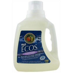 Earth friendly ecos laundry detergent all natural, lavender - 100oz,  4pack