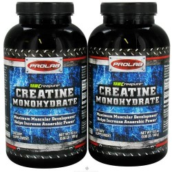 Prolab nutrition - creatine monohydrate powder - 1000 grams - twin pack