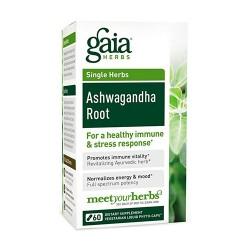 Gaia Herbs Ashwagandha Root Liquid Phyto Capsules, stress response - 60 ea