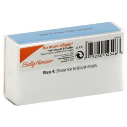 Sally hansen beauty tools, no more ridges, professional salon smoothing block - 6 ea