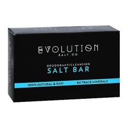 Evolution salt crystal salt bar deodorant cleansing - 9 oz