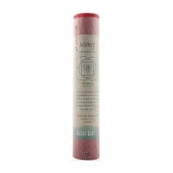 Aloha Bay Chakra Pillar Money Red Candle - 8 inches, 1 ea