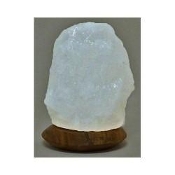 Himalayan salt lamp white USB 4 inch by aloha bay -  1 ea