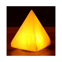 Himalayan salt pyramid salt lamp USB 3.5 Inch by aloha bay - 1 ea