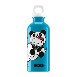 Sigg hello kitty panda water bottle blue color - 0.4 Ltr
