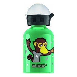 Sigg water bottle go team monkey elephant - 0.3 Liters