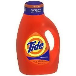 Tide Liquid Detergent, Original Scent - 50 oz, 32 Loads