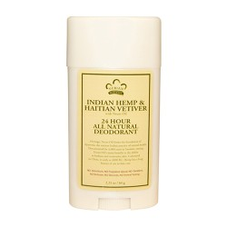 Nubian indian hemp and haitian vetiver 24 Hour all natural deodorant - 2.25 oz