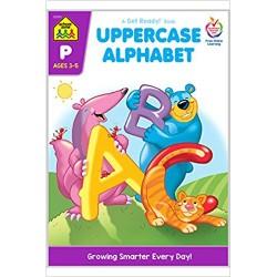 School zone uppercase alphabet - 1 ea