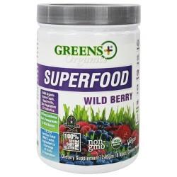 Greens plus organic superfood wild berry - 8.46 oz