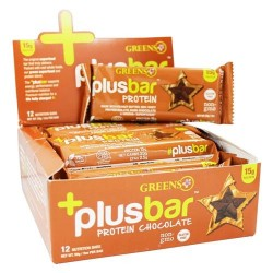 Greens plus - plusbar protein chocolate bar - 2 oz