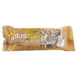 Greens Plus - Plusbar Vegan Chocolate Peanut Butter Chia Crisp Bar - 1.4 oz