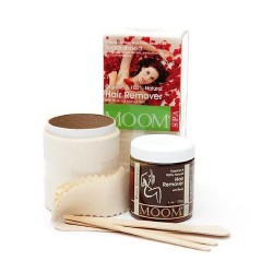 Moom organic hair remover kit with rose essence - 1 ea