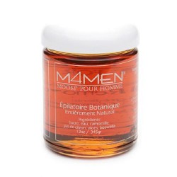 Moom M4Men hair remover refill jar for men - 12 oz