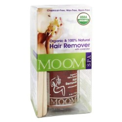 Moom organic hair remover kit with lavender - 1 ea