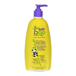 Boo bamboo baby wash and shampoo squeaky clean - 18.6 oz