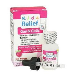 Homelab Kids Ages 0-9 Colic Drops, Raspberry Flavor - 25 Ml
