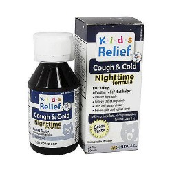 Kids relief cough and cold syrup, night time formula - 100 ml