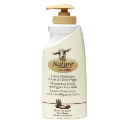 Nature by Canus moisturizing lotion with fresh goats milk shea butter - 11.8 oz