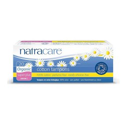 Natracare natural organic cotton tampons, super plus - 20 ea