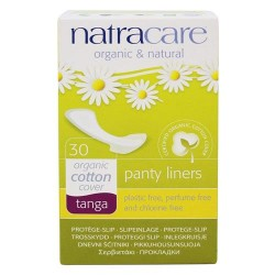 Natracare - organic cotton natural panty liners tanga - 30 liner(s)