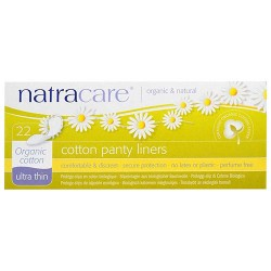 Natracare panty liners, ultra thin - 22 ea