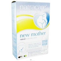 Natracare - organic cotton new mother natural maternity pads - 10 pads