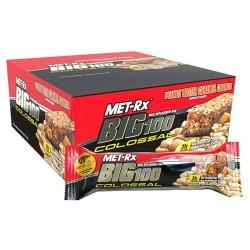 Met-rx big 100 colossal meal replacement bar peanut butter caramel crunch - 100 grams
