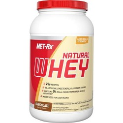 Met-rx - 100% natural whey instantized chocolate - 2 lbs