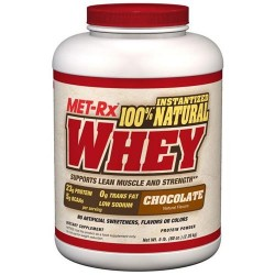 Met-rx - 100% natural whey chocolate - 5 lbs