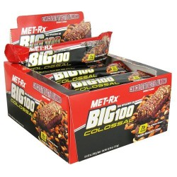 Met-rx - big 100 colossal meal replacement bar chocolate toasted almond - 3 oz