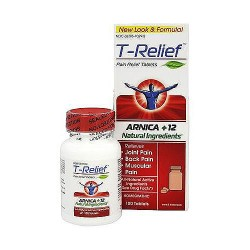 MediNatura T-Relief Pain Relief Tablets - 100 ea