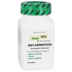 Heel Inflammation homeopathic medication tablets - 100 ea