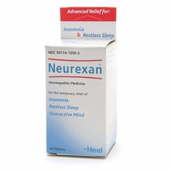 Heel Neurexan homeopathic tablets for insomnia and restless sleep - 60 ea