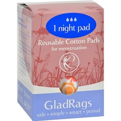 Gladrags night pad - 1 ea