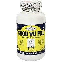 Dr. Shens Shou Wu Pill Youthful Hair 700 mg Tablets - 200 ea
