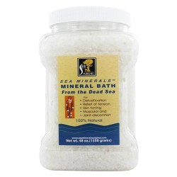 Sea minerals natural mineral bath from the dead sea - 48 oz