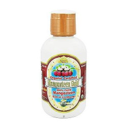 Dynamic Health wild harvested mangosteen gold 100% pure rich in xanthones - 16 oz