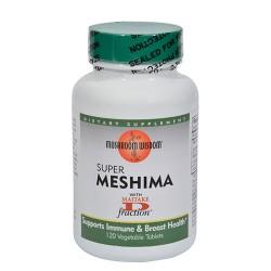 Mushroom wisdom  super meshima - 120 vegetarian tablets