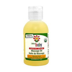 Lafes Natural And Organic Baby Oil, Fragrance Free - 4 oz