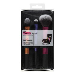 Paris presents real techniques travel essentials brush set - 3 ea