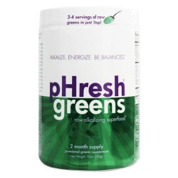 Phresh Products - Phresh Greens 100% Raw Organic Alkalizing Powdered Superfood - 10 oz