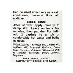 Queen Helene Natural Cocoa Butter Moisturizing Body Oil With Vitamin E - 10 Oz